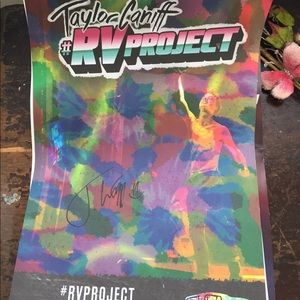taylor caniff posters (one signed)
